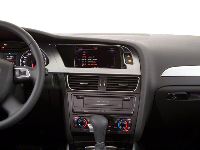 2010 Audi A4 Prices and Values Wagon 4D 2.0T Avant Quattro center dashboard