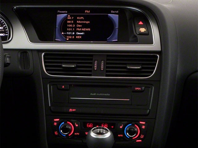 2010 Audi A5 Pictures A5 Coupe 2D Quattro Prestige photos stereo system