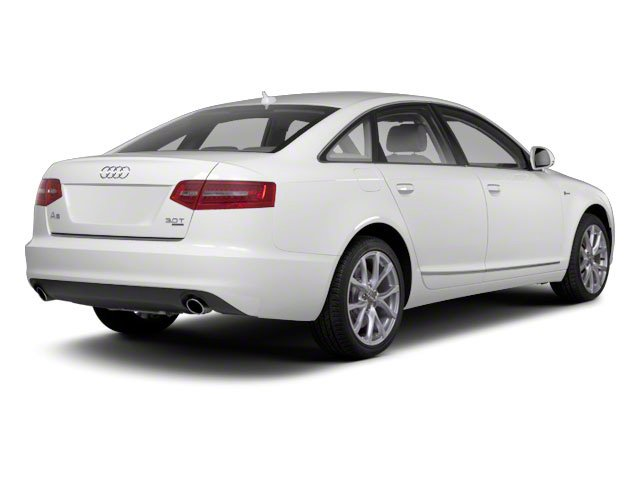 2010 Audi A6 Prices and Values Sedan 4D 3.0T Quattro side rear view