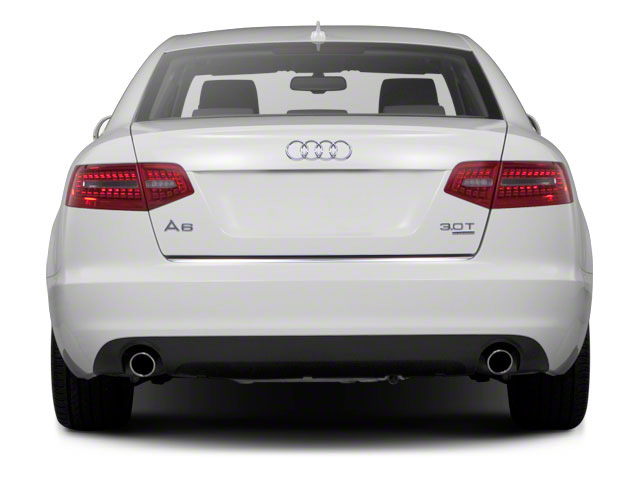 2010 Audi A6 Prices and Values Sedan 4D 3.0T Quattro rear view