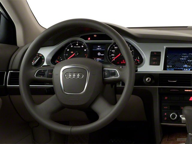 2010 Audi A6 Prices and Values Sedan 4D 3.0T Quattro driver's dashboard