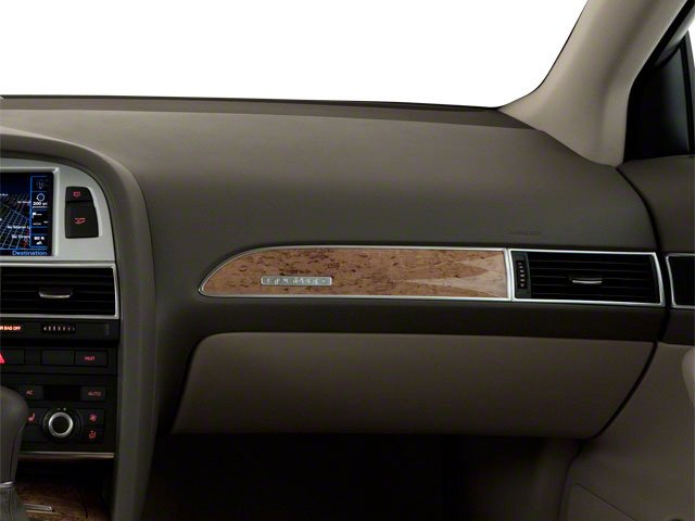 2010 Audi A6 Prices and Values Sedan 4D 3.0T Quattro passenger's dashboard