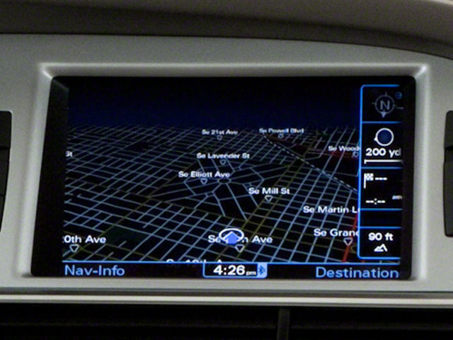 2010 Audi A6 Prices and Values Sedan 4D 3.0T Quattro navigation system
