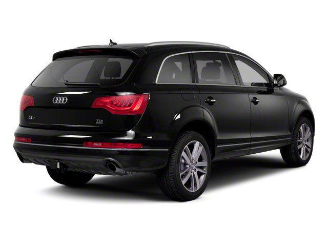 2010 Audi Q7 Prices and Values Utility 4D 3.6 Prestige AWD side rear view