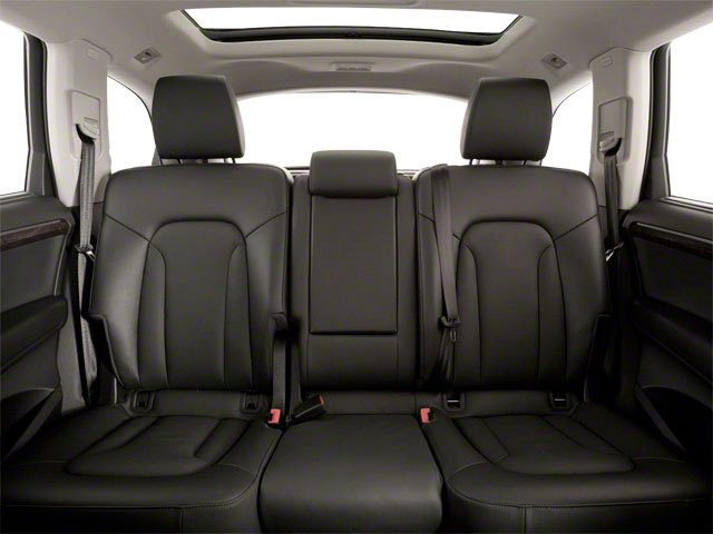 2010 Audi Q7 Prices and Values Utility 4D 3.6 Prestige AWD backseat interior