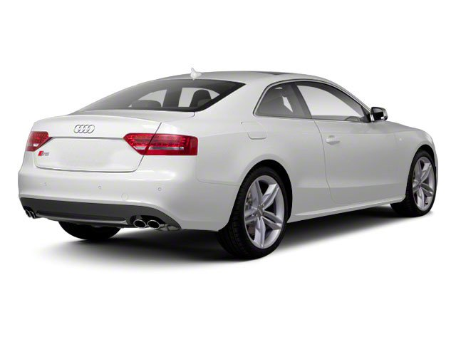 2010 Audi S5 Prices and Values Coupe 2D Quattro Prestige side rear view