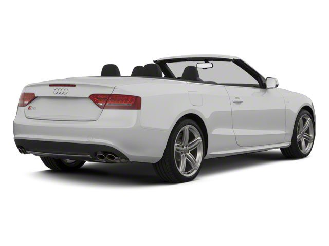 2010 Audi S5 Prices and Values Convertible 2D Quattro side rear view