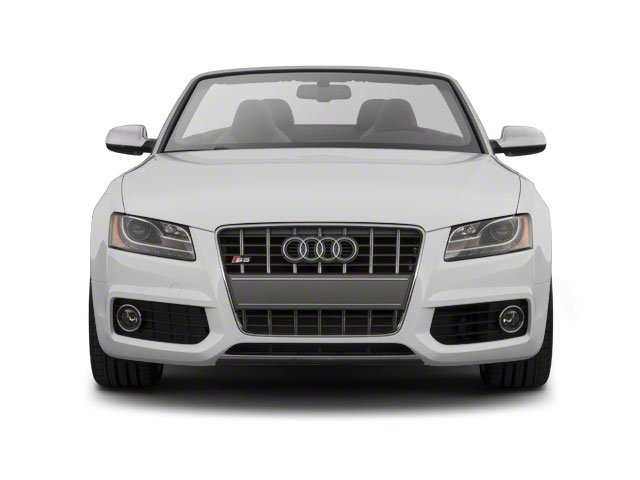 2010 Audi S5 Prices and Values Convertible 2D Quattro front view