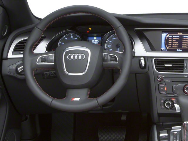 2010 Audi S5 Prices and Values Convertible 2D Quattro driver's dashboard