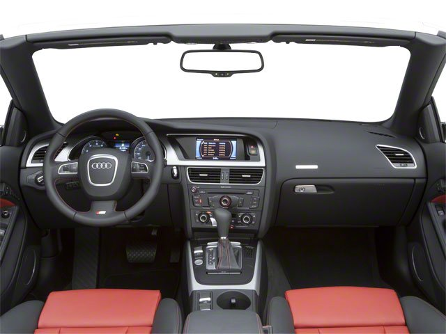 2010 Audi S5 Prices and Values Convertible 2D Quattro full dashboard