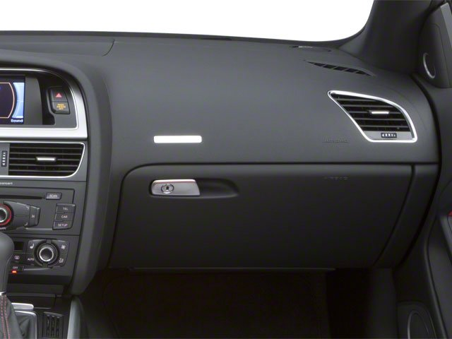 2010 Audi S5 Prices and Values Convertible 2D Quattro passenger's dashboard