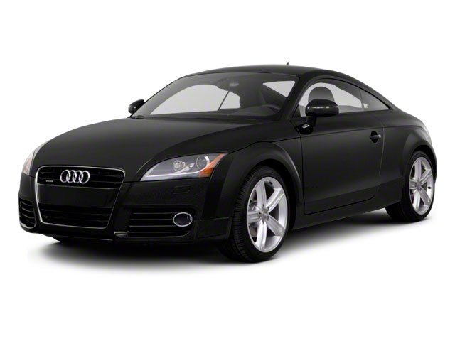 2010 Audi TT Prices and Values Coupe 2D Quattro Prestige side front view