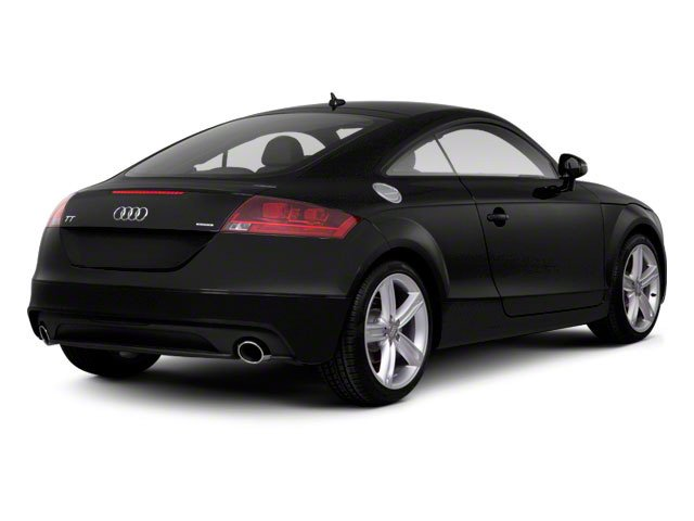 2010 Audi TT Prices and Values Coupe 2D Quattro Prestige side rear view