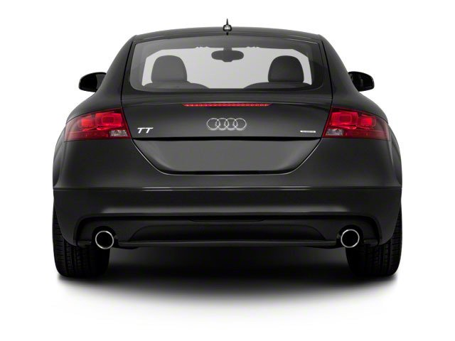 2010 Audi TT Prices and Values Coupe 2D Quattro rear view