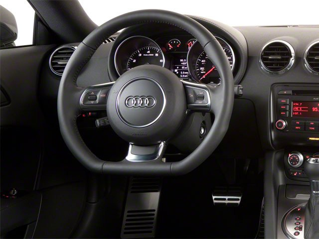 2010 Audi TT Prices and Values Coupe 2D Quattro driver's dashboard