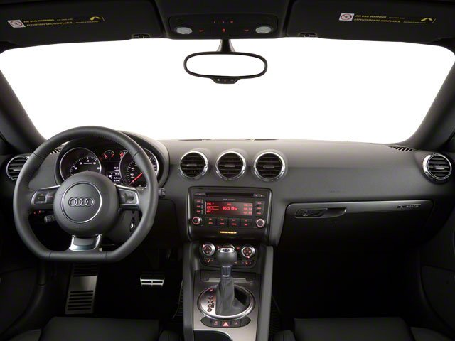 2010 Audi TT Prices and Values Coupe 2D Quattro Prestige full dashboard