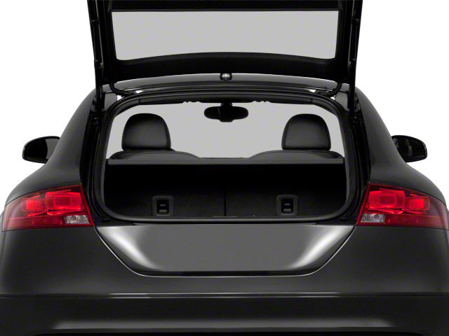 2010 Audi TT Prices and Values Coupe 2D Quattro open trunk