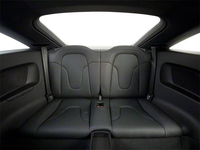 2010 Audi TT Prices and Values Coupe 2D Quattro Prestige backseat interior