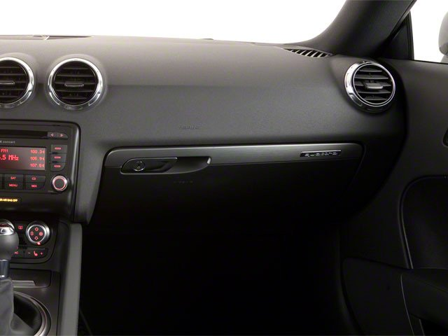 2010 Audi TT Prices and Values Coupe 2D Quattro Prestige passenger's dashboard