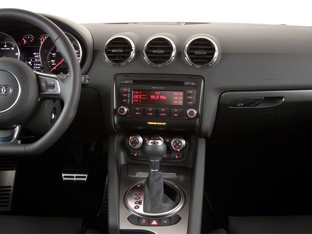 2010 Audi TT Prices and Values Coupe 2D Quattro Prestige center dashboard