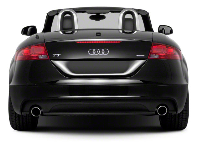 2010 Audi TT Prices and Values Roadster 2D Quattro rear view