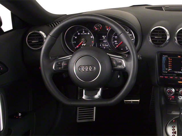 2010 Audi TT Prices and Values Roadster 2D Quattro driver's dashboard