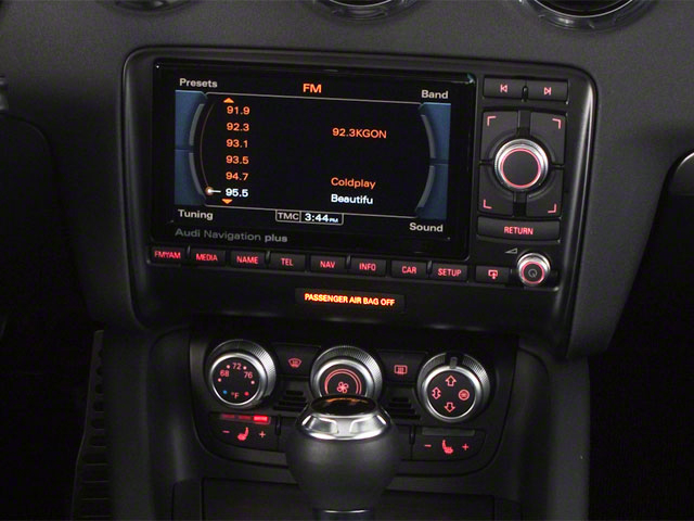 2010 Audi TT Prices and Values Roadster 2D Quattro stereo system