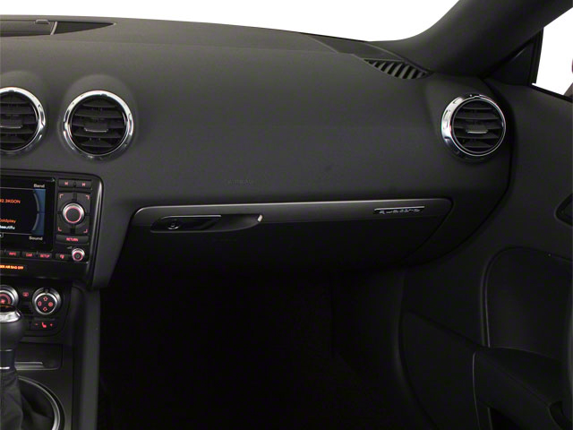 2010 Audi TT Prices and Values Roadster 2D Quattro passenger's dashboard