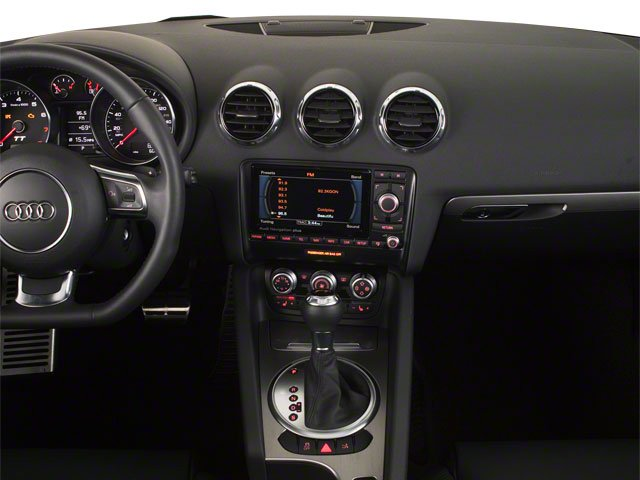 2010 Audi TT Prices and Values Roadster 2D Quattro center dashboard