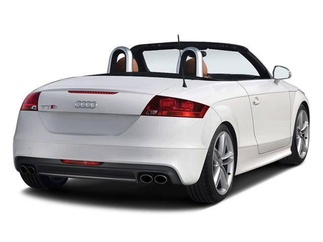 2010 Audi TTS Prices and Values Roadster 2D Quattro side rear view