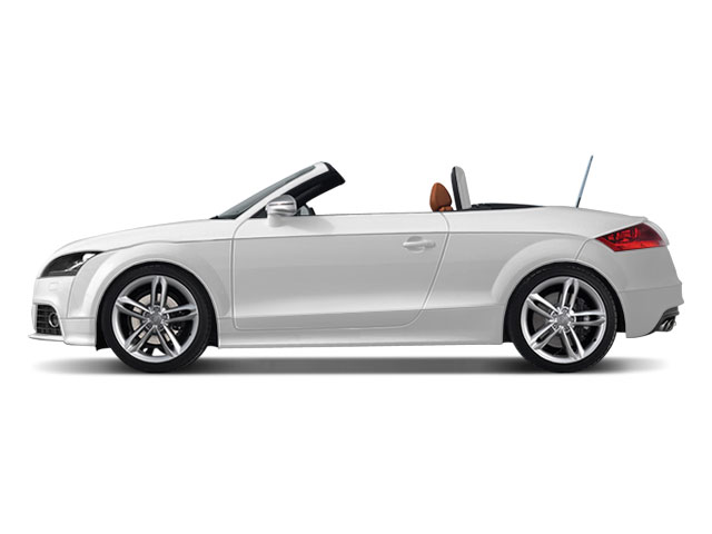 2010 Audi TTS Prices and Values Roadster 2D Quattro side view