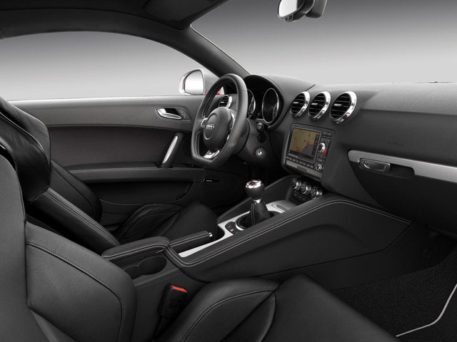2010 Audi TTS Prices and Values Roadster 2D Quattro driver's dashboard
