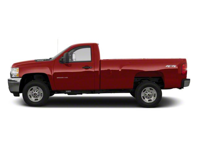 2010 Chevrolet Silverado 2500HD Prices and Values Regular Cab LT 4WD side view