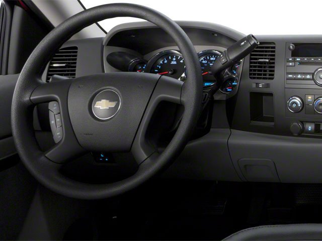 2010 Chevrolet Silverado 2500HD Prices and Values Regular Cab LT 4WD driver's dashboard
