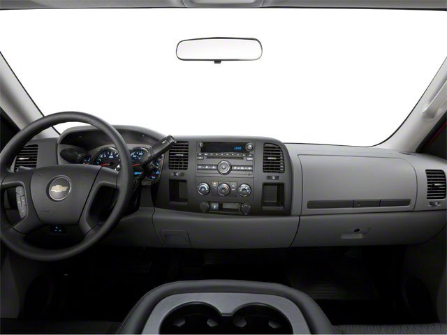 2010 Chevrolet Silverado 2500HD Prices and Values Regular Cab LT 4WD full dashboard