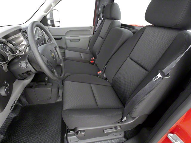 2010 Chevrolet Silverado 2500HD Prices and Values Regular Cab LT 4WD front seat interior