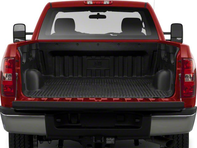 2010 Chevrolet Silverado 2500HD Prices and Values Regular Cab LT 4WD open trunk