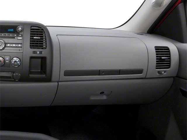 2010 Chevrolet Silverado 2500HD Prices and Values Regular Cab LT 4WD passenger's dashboard