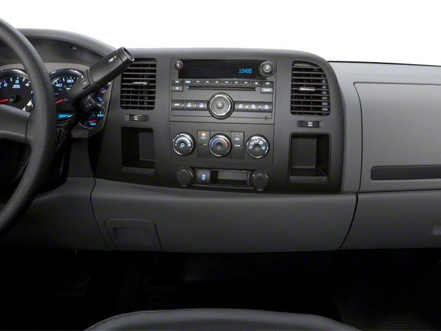 2010 Chevrolet Silverado 2500HD Prices and Values Regular Cab LT 4WD center dashboard