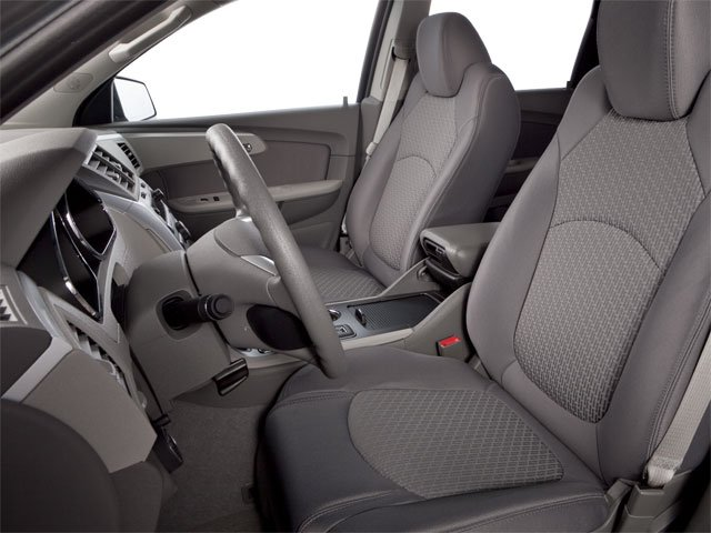 2010 Chevrolet Traverse Prices and Values Utility 4D 2LT AWD front seat interior