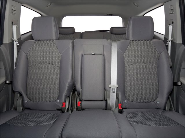 2010 Chevrolet Traverse Prices and Values Utility 4D 2LT AWD backseat interior