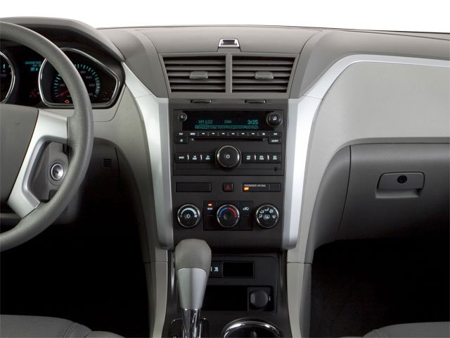 2010 Chevrolet Traverse Prices and Values Utility 4D 2LT AWD center dashboard