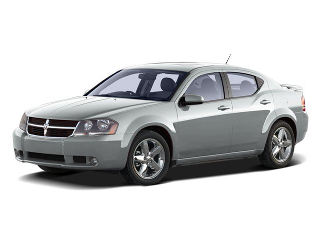 2010 Dodge Avenger Prices and Values Sedan 4D SXT side front view