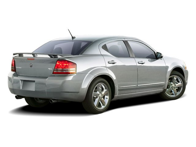 2010 Dodge Avenger Pictures Avenger Sedan 4D R/T photos side rear view