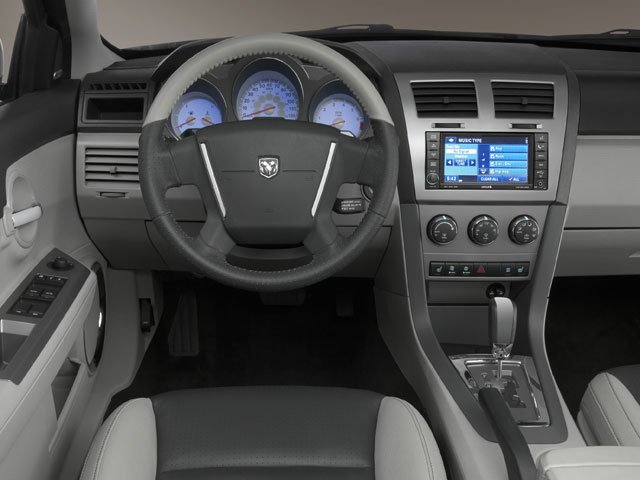 2010 Dodge Avenger Prices and Values Sedan 4D SXT driver's dashboard