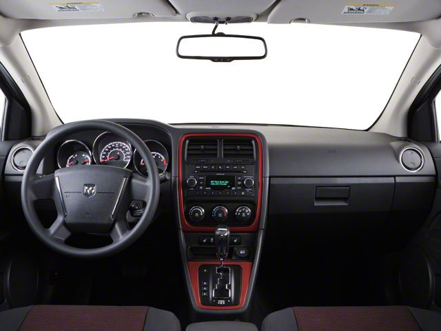 2010 Dodge Caliber Prices and Values Wagon 4D Uptown full dashboard