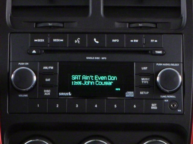 2010 Dodge Caliber Prices and Values Wagon 4D Uptown stereo system