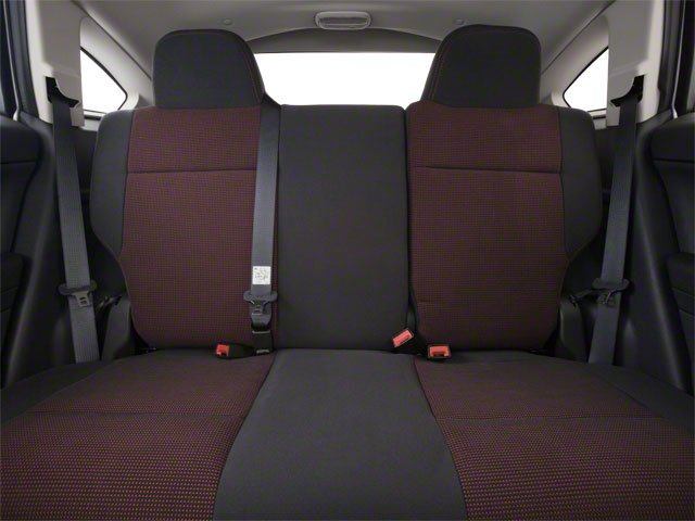 2010 Dodge Caliber Prices and Values Wagon 4D Uptown backseat interior