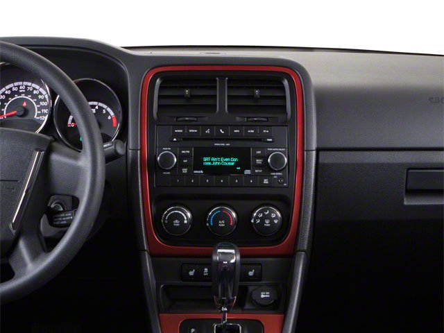 2010 Dodge Caliber Prices and Values Wagon 4D Uptown center dashboard