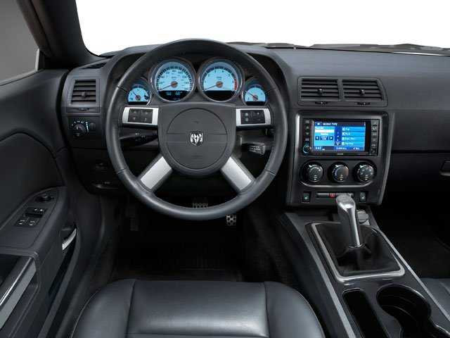 2010 Dodge Challenger Pictures Challenger Coupe 2D R/T photos driver's dashboard
